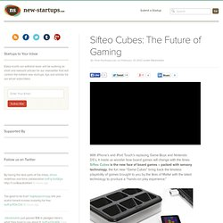 Sifteo Cubes: The Future of Gaming