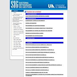 SIG Universidad del Atl ntico