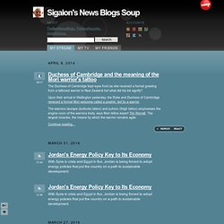 Sigalon's News Blogs Soup