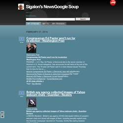 Sigalon's NewsGoogle Soup
