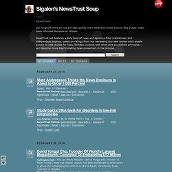 Sigalon's NewsTrust Soup