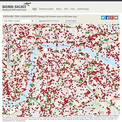 Bomb Sight - Mapping the World War 2 London Blitz Bomb Census