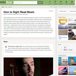 How to Sight Read Music: 14 steps