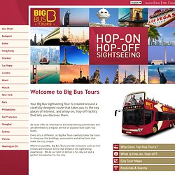 Big Bus Tours - Sightseeing Tours of London by Open-Top Bus