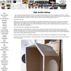 Sigi Audio Setup