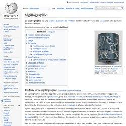 Sigillographie