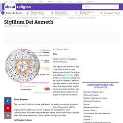 Sigillum Dei Aemeth - Sigil of Ameth