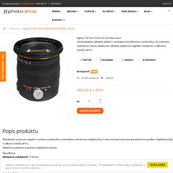 Sigma 17-50 mm f/2.8 EX DC OS HSM Canon