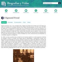 Sigmund Freud. Biografía.