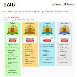 Sign up to ALLi