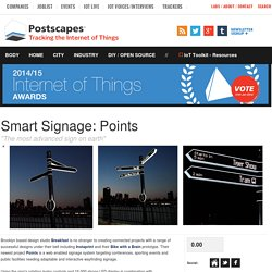 Smart Signage: Points- Postscapes