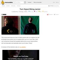Turn Signal Biking Jacket: 8 Steps