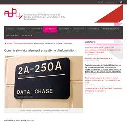 Commission signalement et système d'information