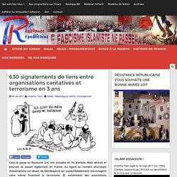 630 signalements de liens entre organisations caritatives et terrorisme en 3 ans