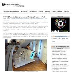 BOSCHER signalétique et image au Musée de l'Homme à Paris - Actualités Pro de MuseumexpertsActualités Pro de Museumexperts