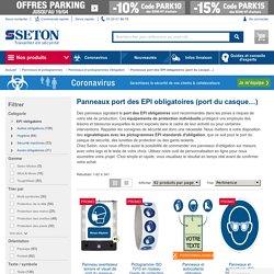 Signalétique d'obligation du port des EPI