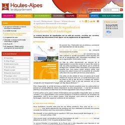 Schéma directeur de signalisation directionnelle et touristique - Conseil Général des Hautes-Alpes