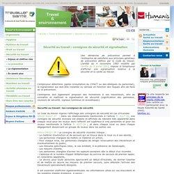 Prévention sécurité au travail : affichage, formation, signalisation