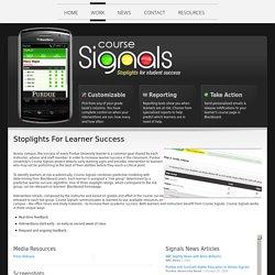 Signals at Purdue University