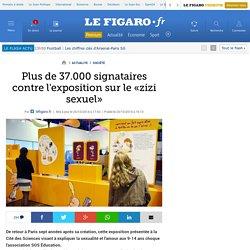 Plus de 37.000 signataires contre l'exposition sur le «zizi sexuel»