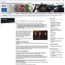 Signature du CRSD de Caen