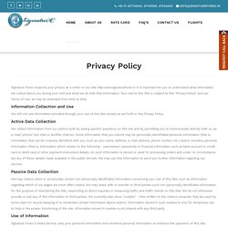 Signature Forex Privacy Policy