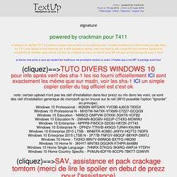 signature - TextUp