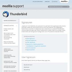 Thunderbird-Hilfe