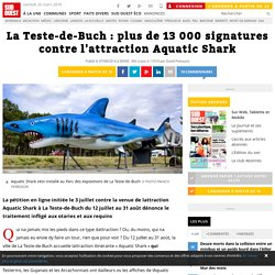La Teste-de-Buch : plus de 13 000 signatures contre l'attraction Aquatic Shark