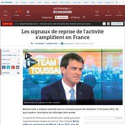 Les signaux de reprise de l'activité s'amplifient en France