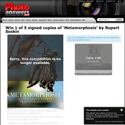 Win 1 of 5 signed copies of 'Metamorphosis' by Rupert Soskin - Photo Answers