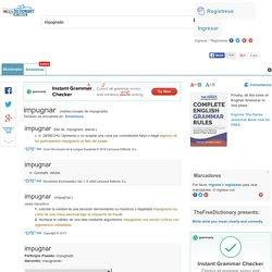 Impugnado - significado de impugnado diccionario