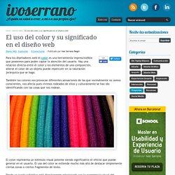 El uso del color y su significado en el diseño web - Ivan Serrano Regol
