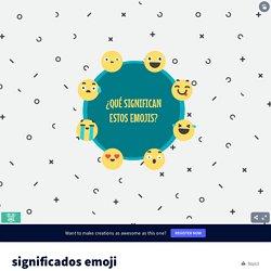 significados emoji El lenguaje de las estrellas de Moisés Roca Romero on Genially