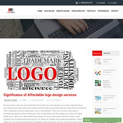 Significance of Affordable Logo Design Services