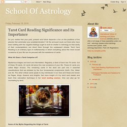 Tarot Reading Courses with Time Calculation Technique