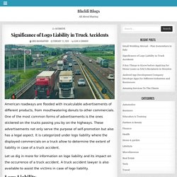 Significance of Logo Liability in Truck Accidents