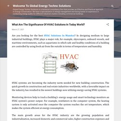 What Are The Significance Of HVAC Solutions In Today World?