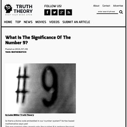 What Is The Significance Of The Number 9?