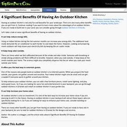 Design The Perfect Outdoor Kitchen Orlando