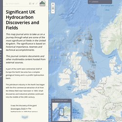 Significant UK Hydrocarbon Discoveries and Fields