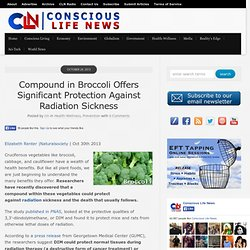 Compound in Broccoli Offers Significant Protection Against Radiation Sickness