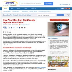 Foods to Significantly Improve Your Vision