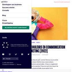 Signification couleurs - symbolique couleurs en communication, marketing