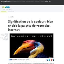 Maitrisez le sens des couleurs sur le web - Conseils d'experts - Jimdo