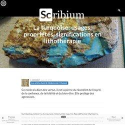 La turquoise: usages, propriétés, significations en lithothérapie
