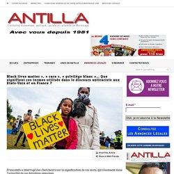 Black lives matter», «race», «privilège blanc»… Que signifient ces termes utilisés dans le discours antiraciste aux Etats-Unis et en France ?