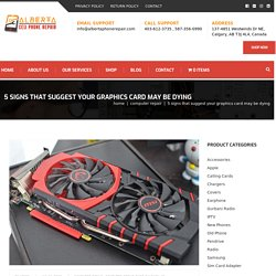 5 Signs That Suggest Your Graphics Card May Be Dying