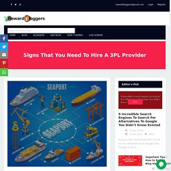 Signs That You Need To Hire A 3PL Provider