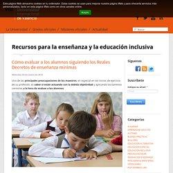 Cómo evaluar a los alumnos siguiendo los reales decretos de enseñanza mínimas